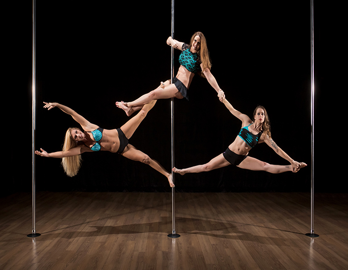 pole fitness aerial arts flexibility