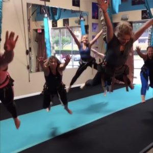 Flying high with bungee fitness