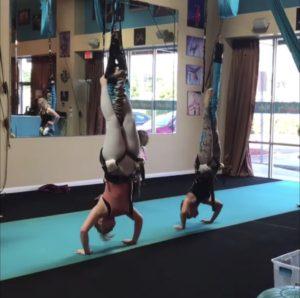 bungee fitness class